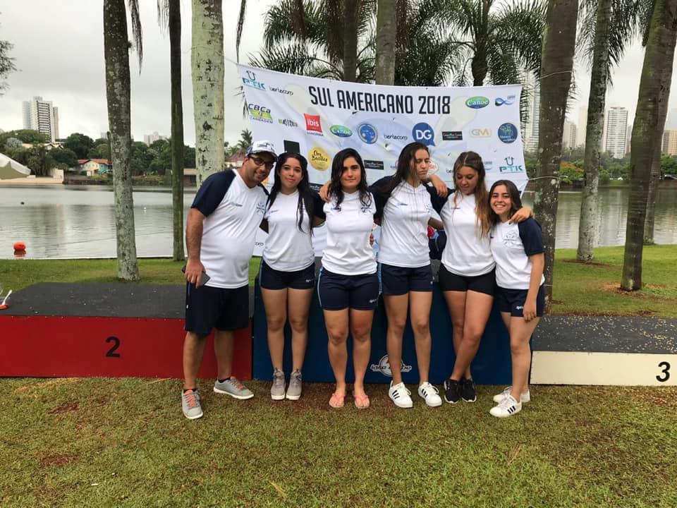 La Selección Argentina se subió al podio  en el Sudamericano de Kayak Polo
