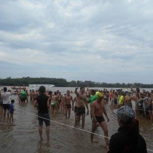 Con más de 400 participantes la maratón de Aguas Abiertas fue todo un éxito