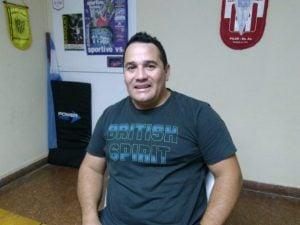 """Diego Pereyra, presidente de la ASKF:  """"queremos tener nuestro propio lugar"""""""