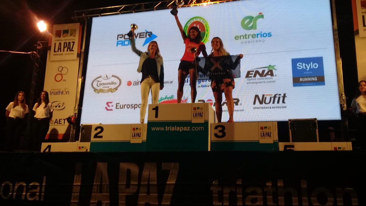 Atletas locales protagonizaron el Tria de La Paz