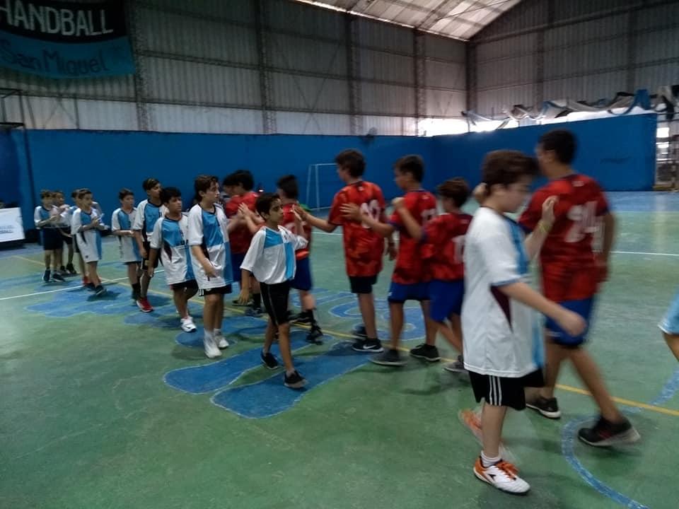 Handball: positiva primera fecha para Escobar
