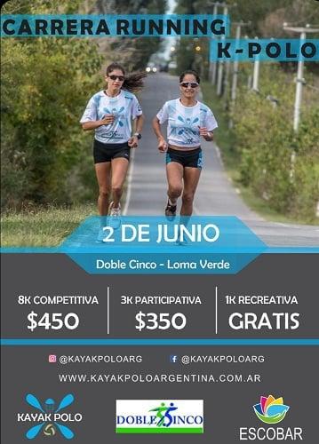 """Se viene la tercera edición """"Carrera Running K-Polo"""" en Loma Verde"""