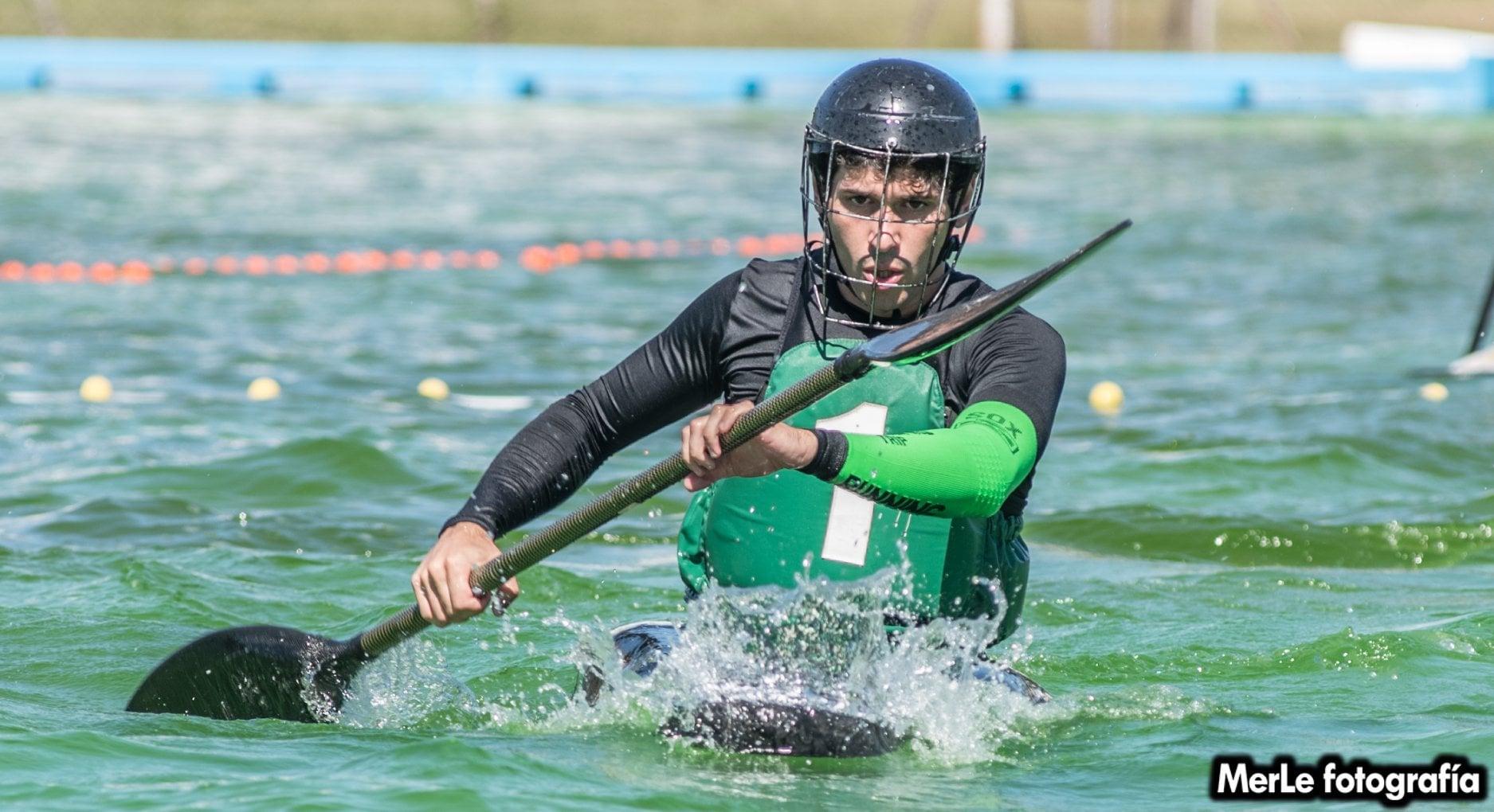 Nicolás  Fasce convocado para jugar la Superliga de Kayak Polo en China