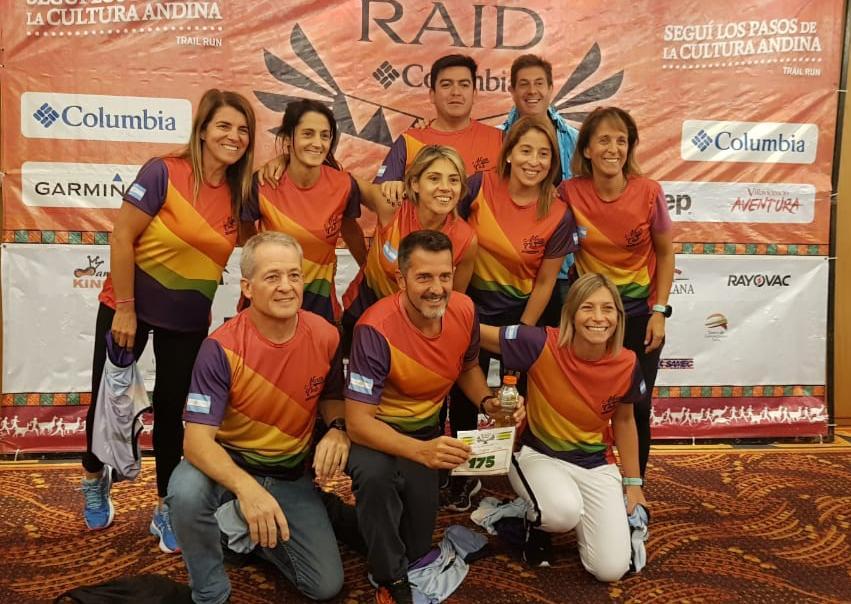 """Atletas de Escobar  participaron del """"Raid de los Andes"""" con gran actuación"""