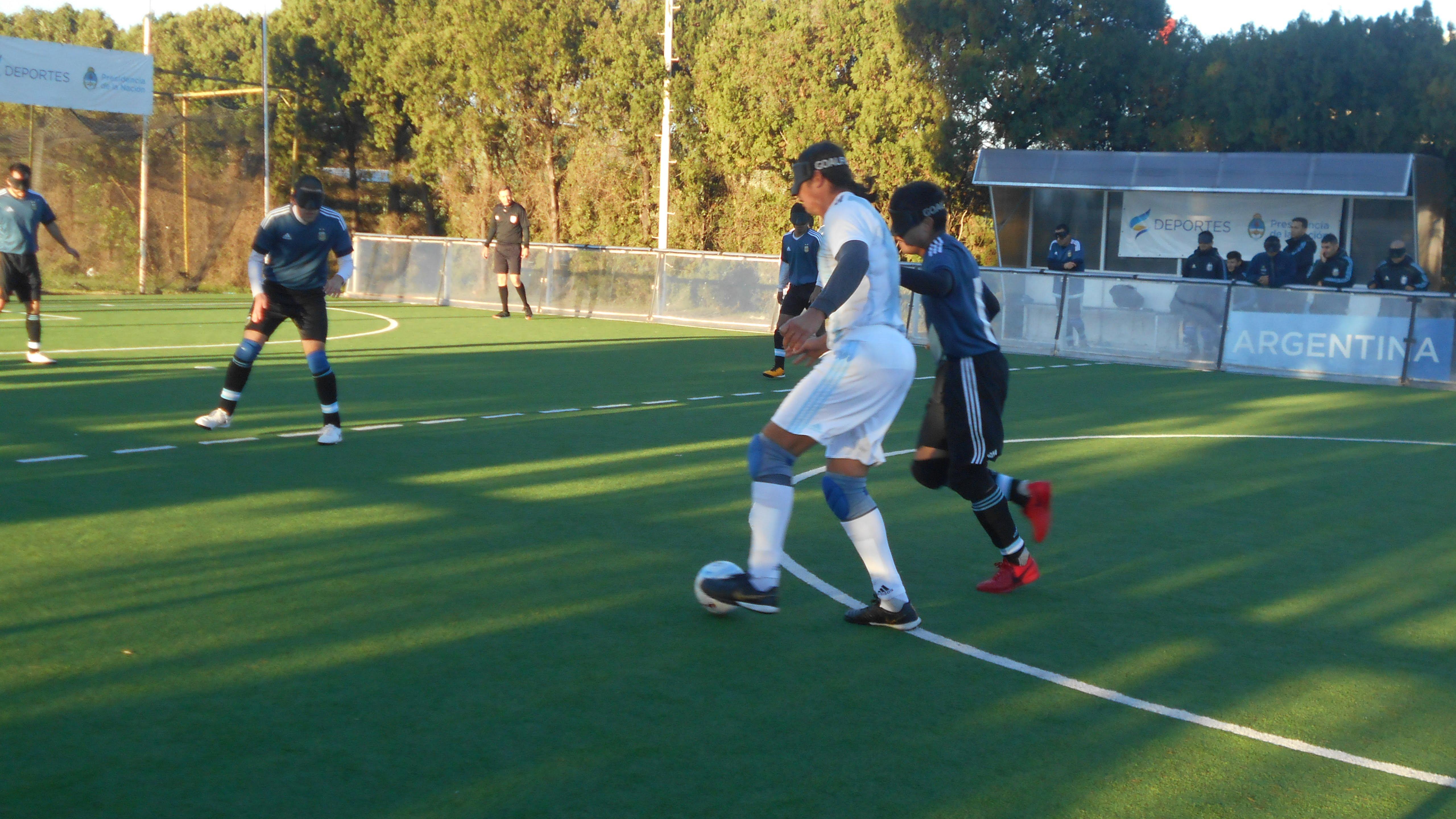 Comenzó la Copa Tango de fútbol para no videntes con la participación de Los Murciélagos
