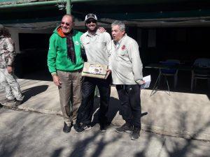 Lucas Vaira ganó el concurso de caña mayor