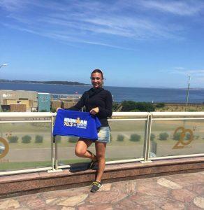 Yanina Minaglia  viaja a Francia para participar del IRON MAN 70.3