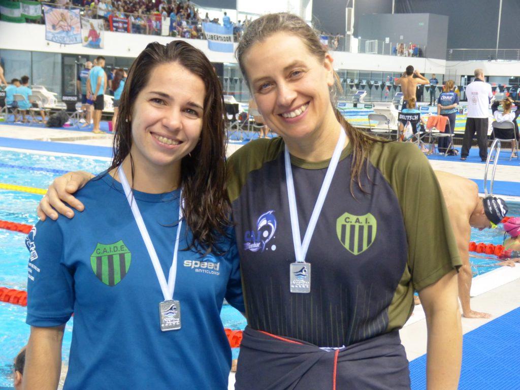 María García Nieto y Verónica  Schrock subcampeonas nacionales