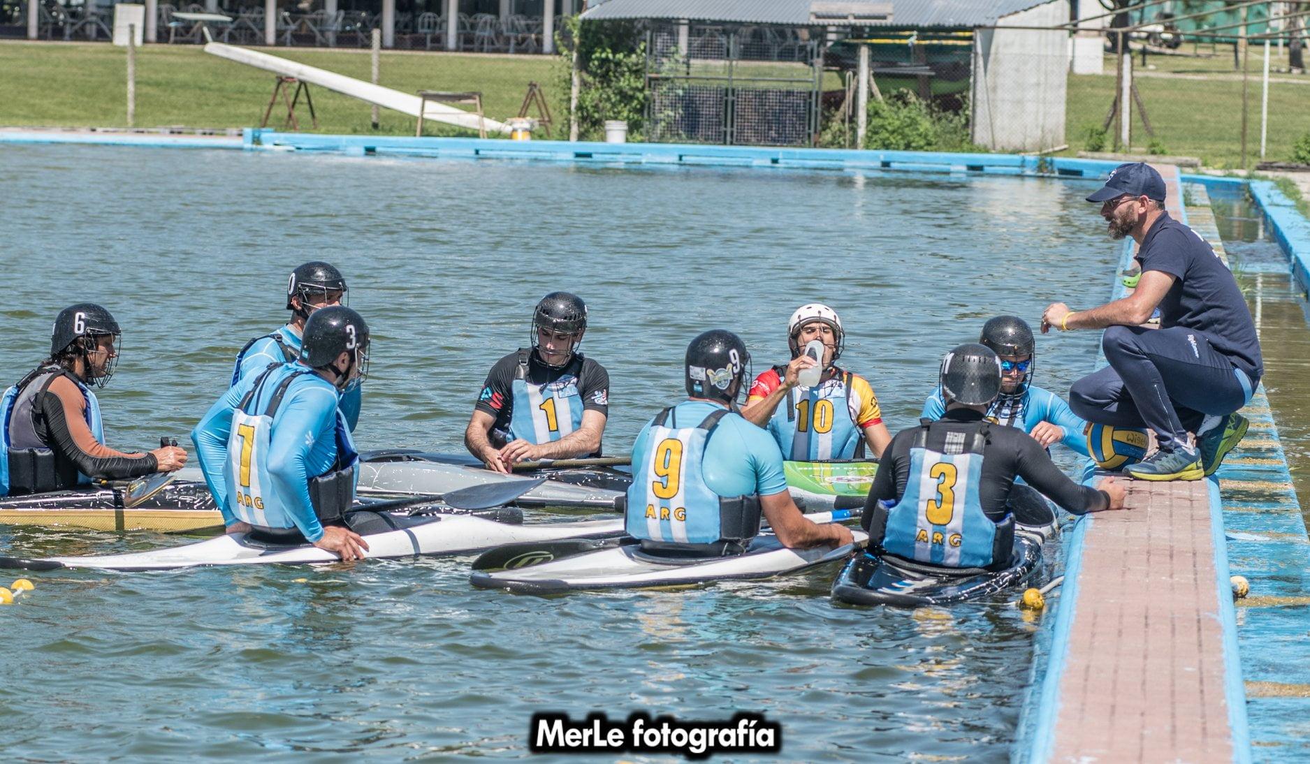 La selección Argentina de Kayak Polo jugará el  Panamericano en Brasil