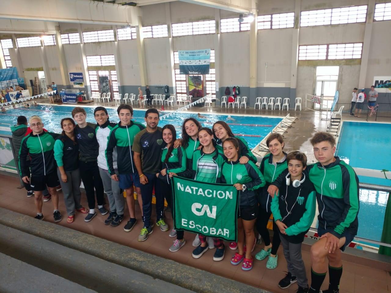 El talento y crecimiento de los nadadores de Independiente sigue intacto y en ascenso