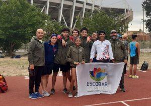 Gran actuación de los atletas escobarenses en el Campeonato Nacional U16 y U18
