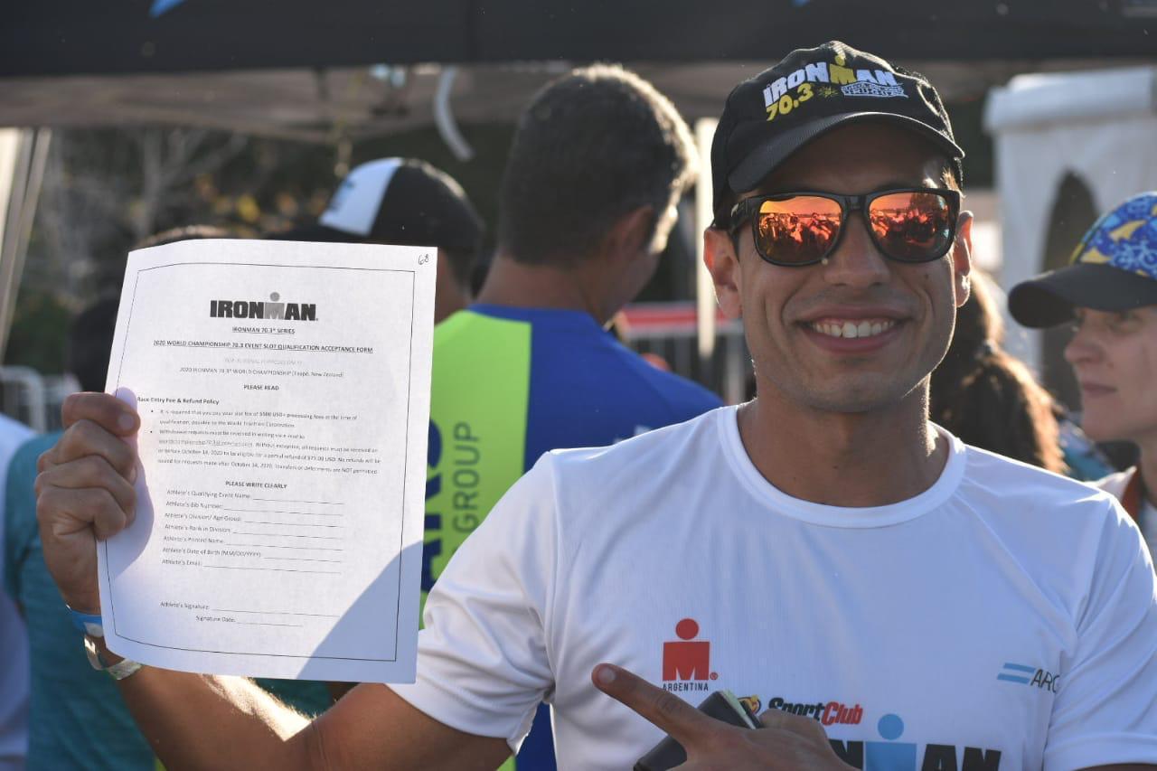 """Lucas Leguizamón: """"tome el triatlón como un estilo de vida y ahora me llegó este premio"""""""