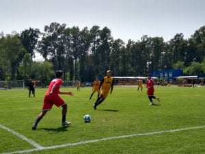 Mitre de Santiago del Estero jugó un amistoso de pretemporada en Doble55inco