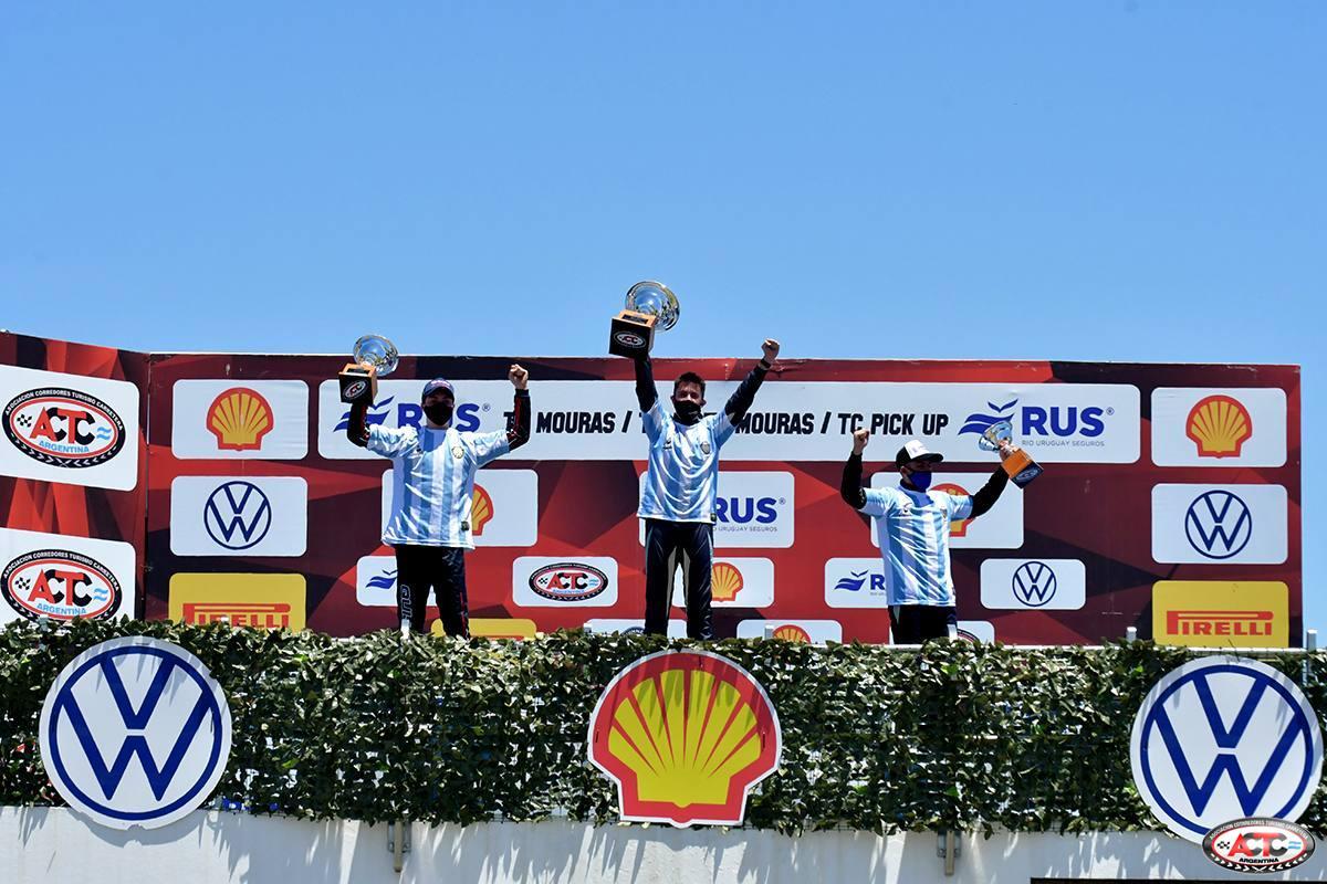 Marcos Quijada fue segundo en la 8° fecha y va por el campeonato