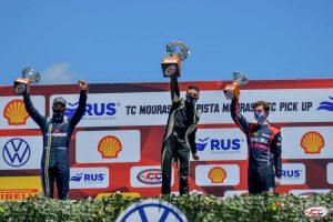 Marcos Quijada, logro podio y va por el campeonato