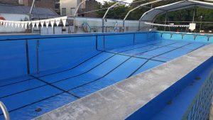 La escuela integral de natación de Independiente  reanuda su actividad