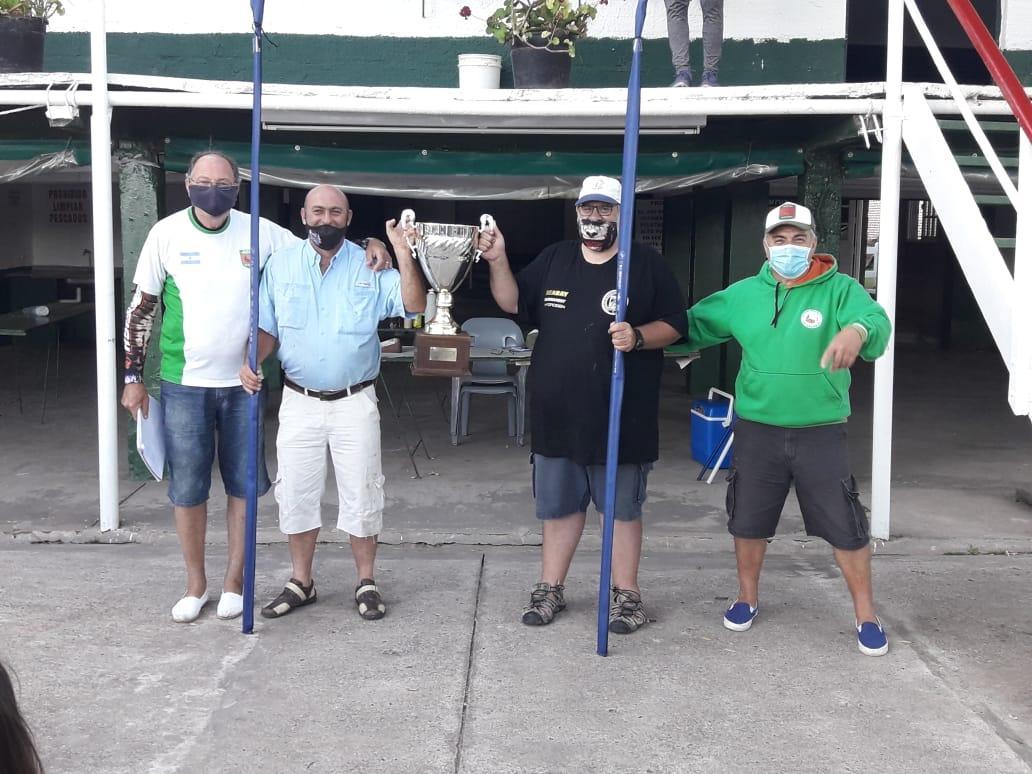 El concurso de 12 horas del club de Pescadores  fue ganado por Pantalone  y Bollar