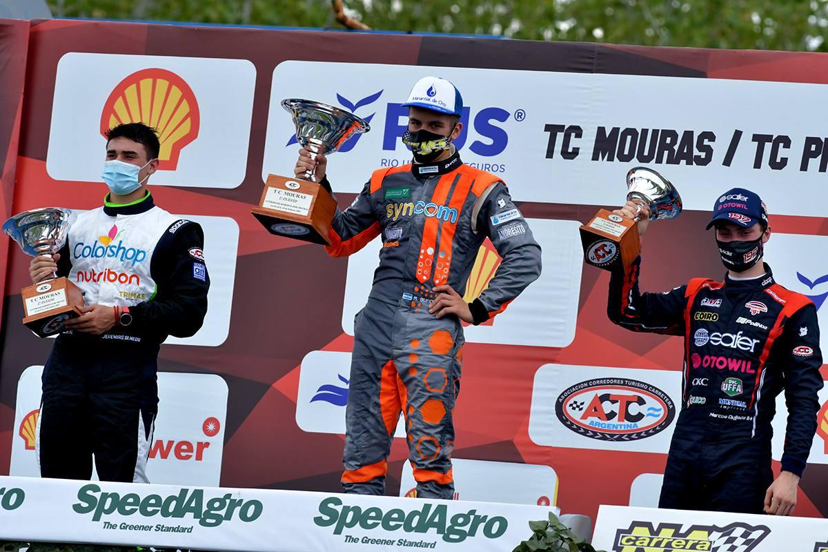Marcos Quijada, hizo podio por tercera vez consecutiva en el TC Mouras