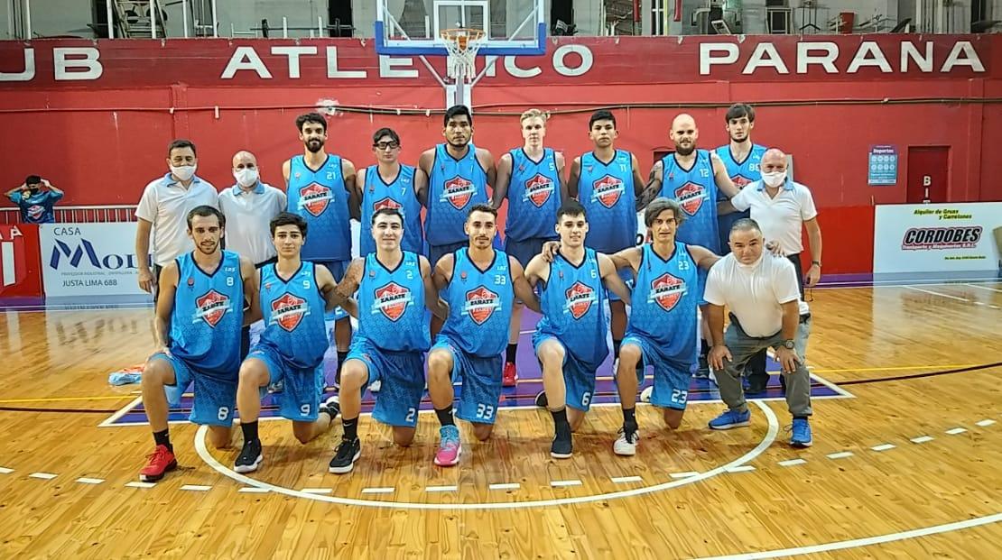 Derqui y Zarate Basket  jugando como  local ganaron en la primera fecha del Federal