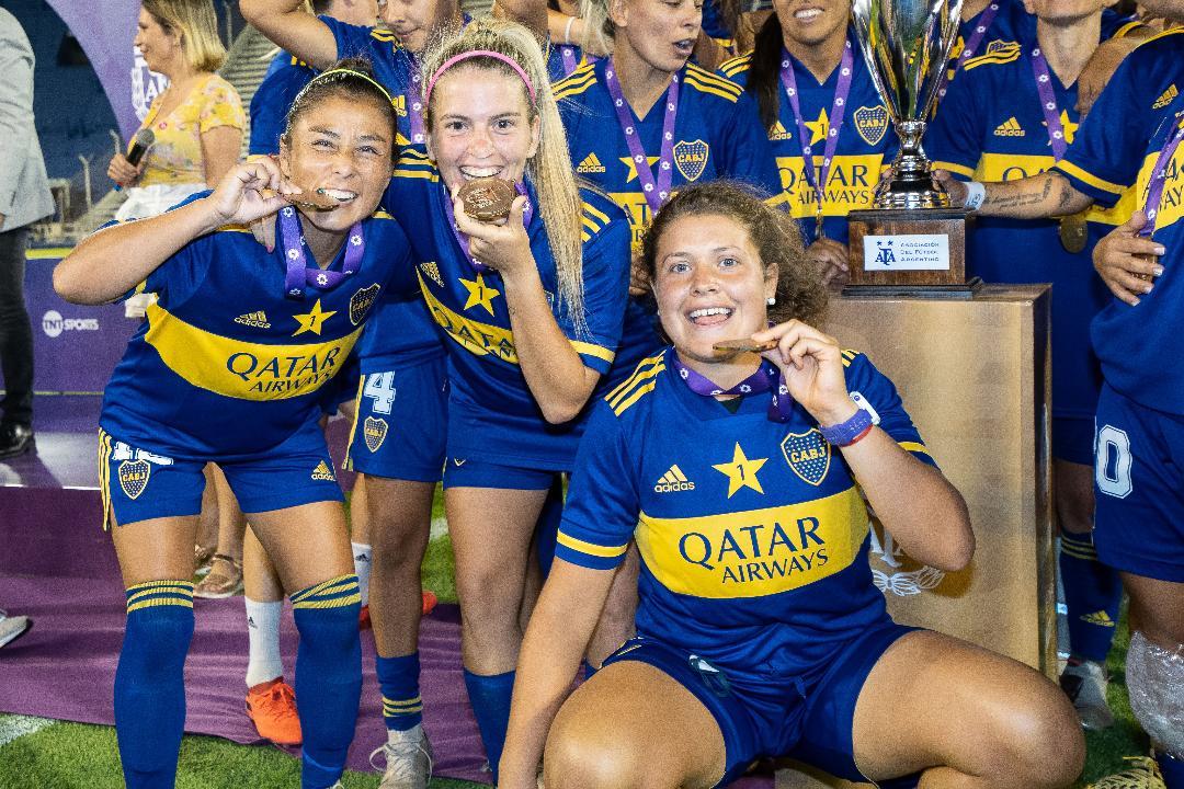 """Fabiana Vallejos: """"Ser las primeras campeonas es una satisfacción muy grande"""""""
