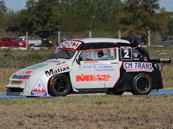 Gastón D´Angelo fue segundo en la TC 1100 en  Gualeguaychu