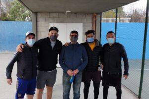 Bochaton y Enrique ganaron el torneo de Padle en Sportivo Escobar
