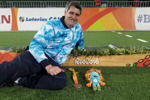 Darío Lencina alcanzará los cinco Juegos Paralímpicos defendiendo el arco de Los Murciélagos