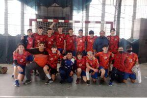 Damas y caballeros de Handball Escobar comenzaron a jugar él clausura de FEMEBALL