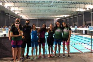 El equipo de natación federado de Independiente volvió a la competencia oficial