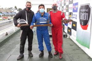 Gastón D ´Angelo se subió al podio en el autódromo de Buenos Aires