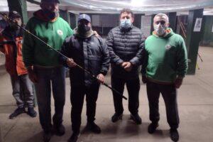 Pablo Montiel  gano el concurso solidario del club de Pescadores de Escobar