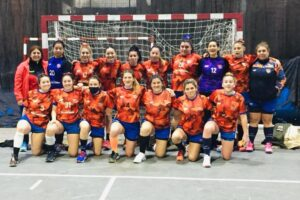 Destacada actuación   de las inferiores damas y caballeros de Handball Escobar