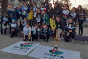 Destacada actuación del patín carrera Garín – Escobar en el regreso a la competencia