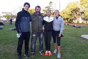 Gómez, Lezcano y Almada: tres talentos del Atletismo escobarense en los Nacionales